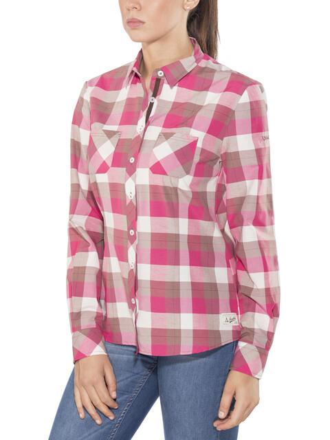 Schöffel Torino1 - T-shirt manches longues Femme - beige/rose